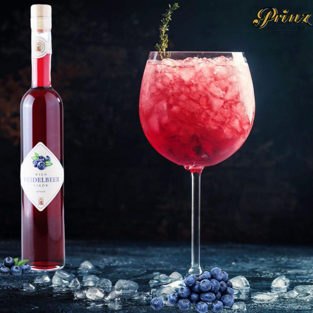 Prinz blåbär Bellini